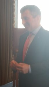 Close up of Ambassador Charles Rivkin