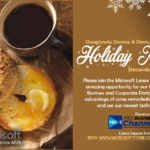 Join us for FREE Holiday Morning Mixer with Microsoft and PBC