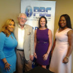 Christian Ross with Village Realty and Tutu Longe with Hottie+Lord, Joanne Hayes with Simply Buckhead on the Buckhead Business Show
