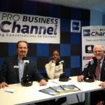 LinkedIn Guy Gregg Burkhalter and the Roku Girl C.F. Jackson with iDefine TV on Buckhead Business Show.