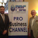 Matthew DiVenere with Marconi International Advisors at Atlanta Euro Chamber Mixer on International Business Radio